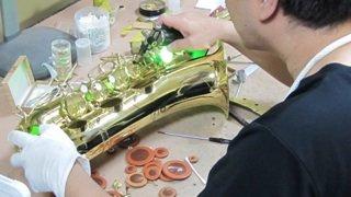 ホルン修理 管楽器修理